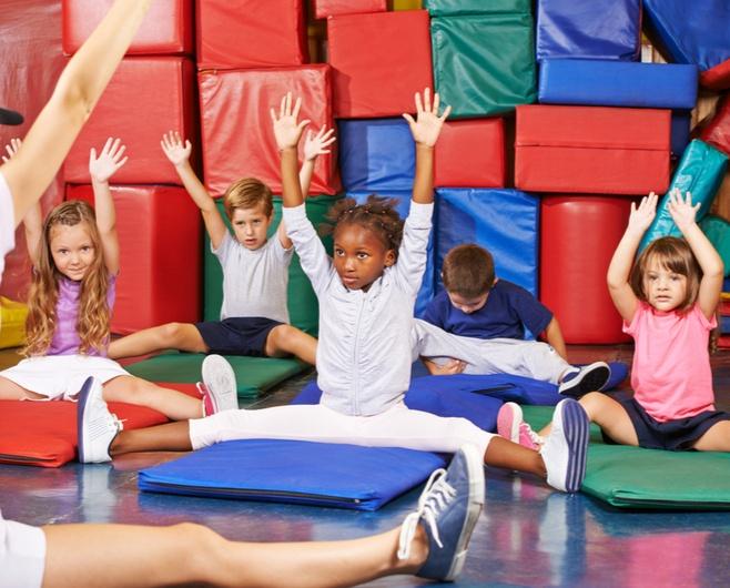 childrens gym class software